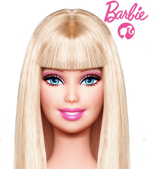 barbie bangs